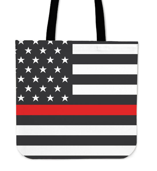 Firefighter Thin Red Line Tote Bag - Nvr2Lte2Shop.com