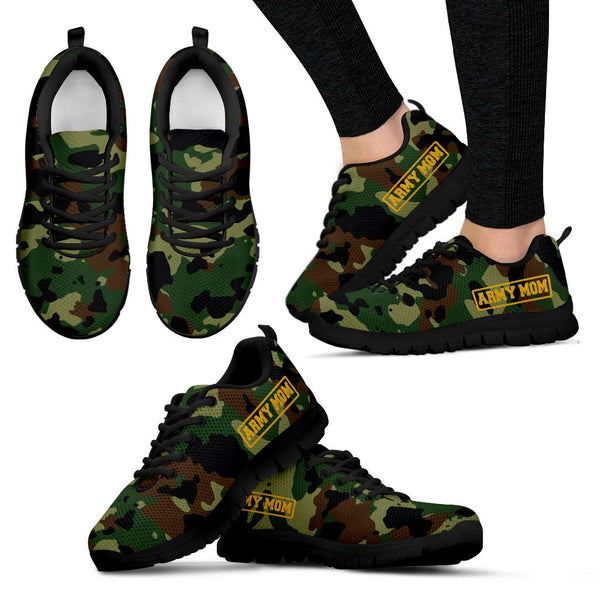 Army - Army Mom - Women's Sneakers - Nvr2Lte2Shop.com