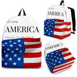 AMERICA White Backpack - Nvr2Lte2Shop.com