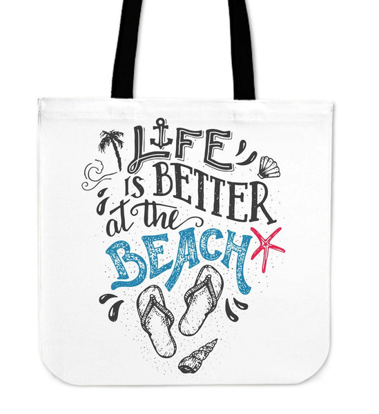Life Is Better Beach Tote - Nvr2Lte2Shop.com