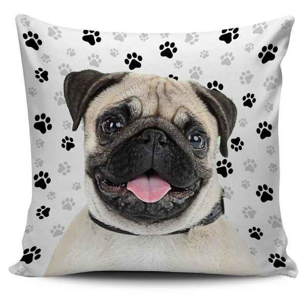 Pug Pillow Cover - Nvr2Lte2Shop.com