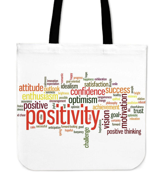 Positivity Tote Bag - Nvr2Lte2Shop.com