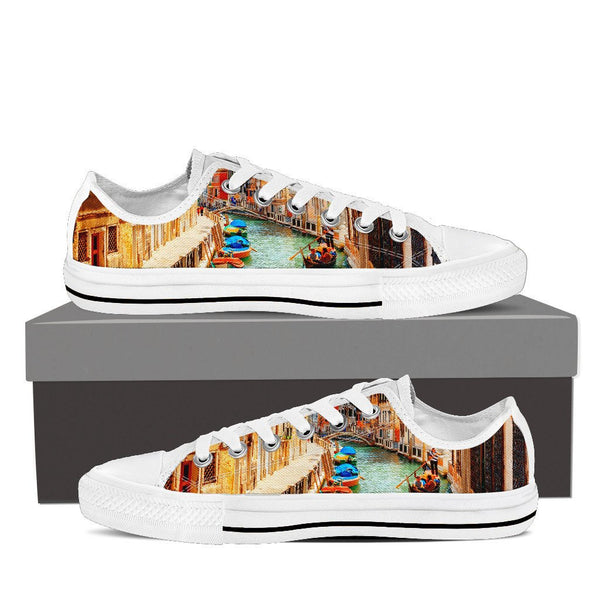 Venice Low Top Canvas Shoes - Nvr2Lte2Shop.com