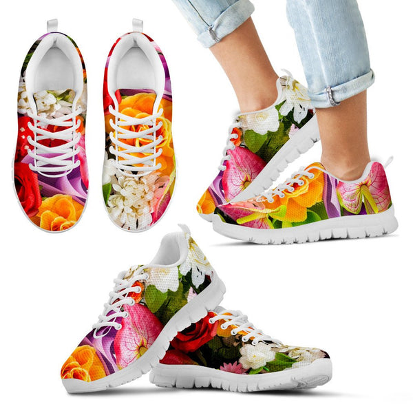 Flower Sneakers - Kids - Nvr2Lte2Shop.com