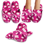 Breast Cancer Awareness Slippers - Nvr2Lte2Shop.com