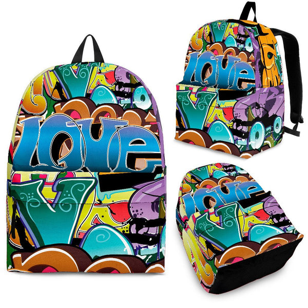 Grafitti Backpack - Nvr2Lte2Shop.com