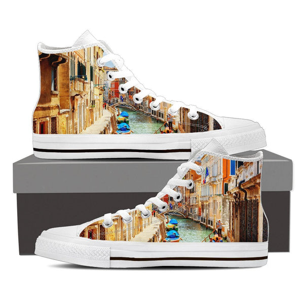 Venice High Top Canvas Shoes - Nvr2Lte2Shop.com