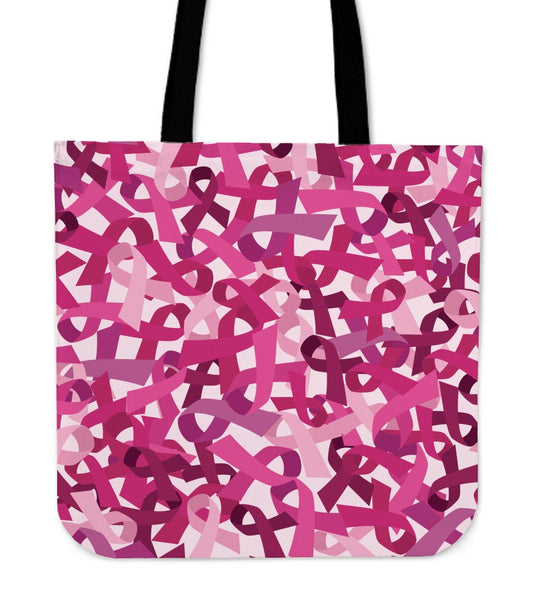 Breast Cancer Awareness Tote Bag - Nvr2Lte2Shop.com