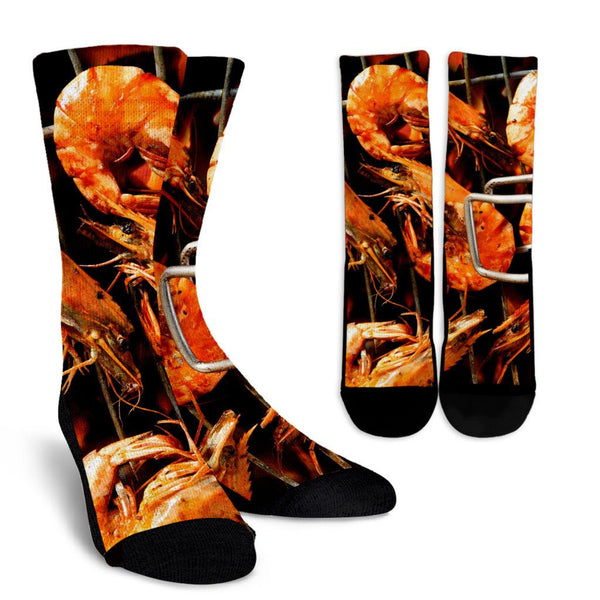 Shrimp Socks - Nvr2Lte2Shop.com