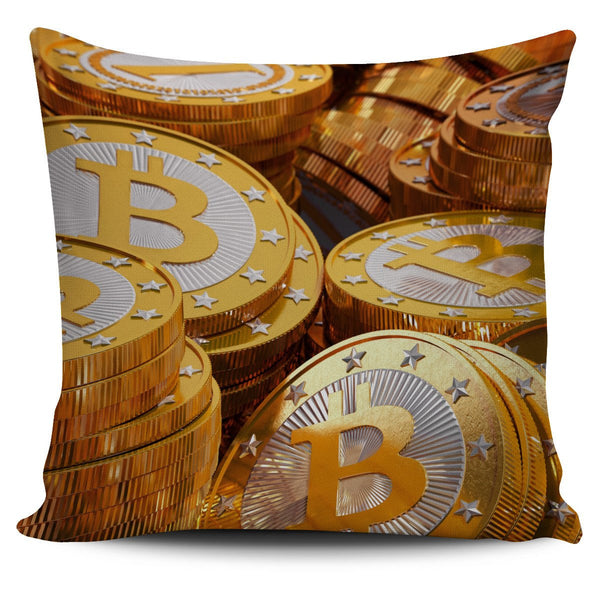 Bitcoin Pillow Cover - Nvr2Lte2Shop.com