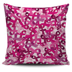 Breast Cancer Awareness Pillow Cover - Nvr2Lte2Shop.com