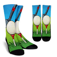 Golf Pixelated Socks - Nvr2Lte2Shop.com