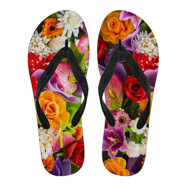 Flower Flip Flops - Women - Nvr2Lte2Shop.com