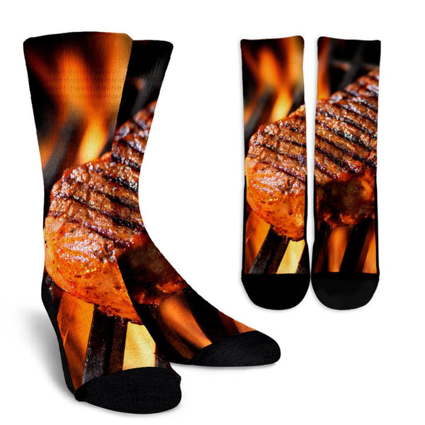 Steak Socks - Nvr2Lte2Shop.com