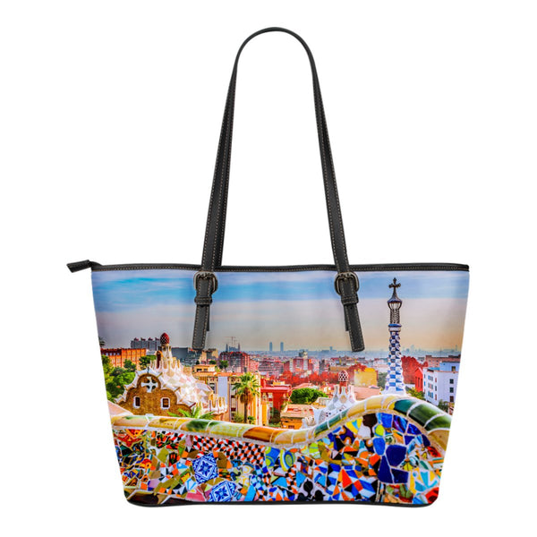 Spain Small Leather Tote - Nvr2Lte2Shop.com