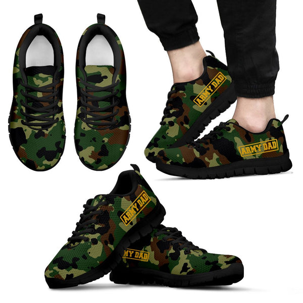Army - Army Dad - Men's Sneakers - Nvr2Lte2Shop.com