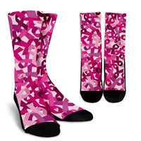 Breast Cancer Awareness Socks - Nvr2Lte2Shop.com