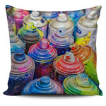 Grafitti Paint Pillow Cover - Nvr2Lte2Shop.com