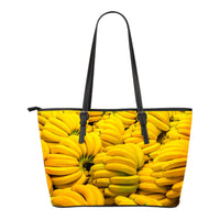 Banana Small Leather Tote - Nvr2Lte2Shop.com