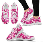 Breast Cancer Awareness Sneakers - Nvr2Lte2Shop.com