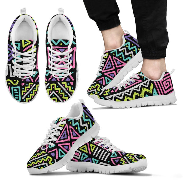 Neon Crazy Sneakers - Nvr2Lte2Shop.com