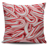 Candy Canes Pillow Cover - Nvr2Lte2Shop.com
