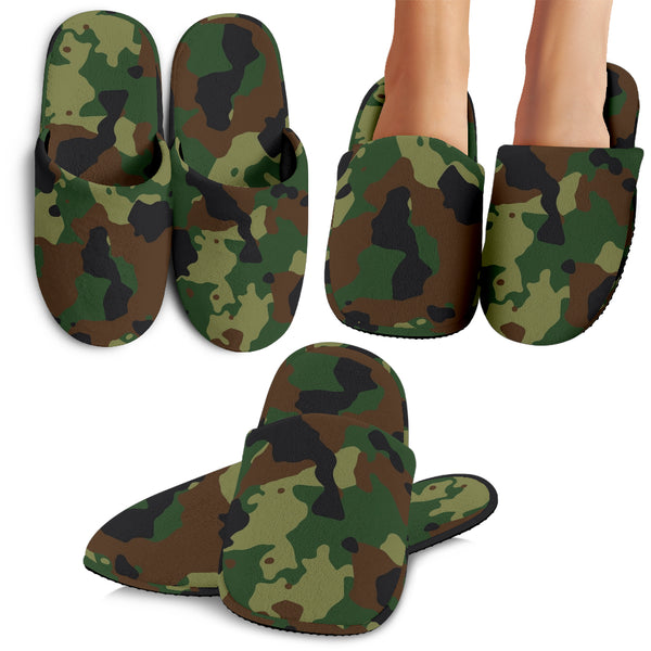 Camo Slippers - Nvr2Lte2Shop.com