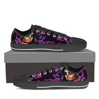 Calavera Senorita Low Top Canvas Shoes - Women - Nvr2Lte2Shop.com