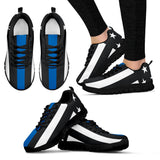 Police Thin Blue Line Sneakers - Nvr2Lte2Shop.com