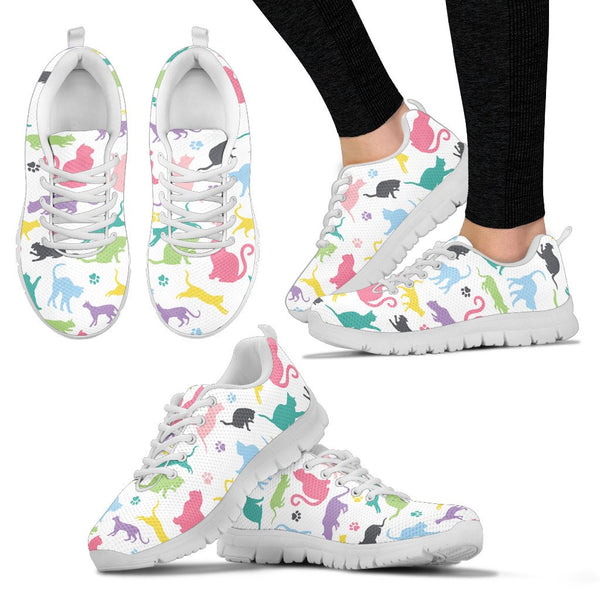 Cats Sneakers - Nvr2Lte2Shop.com