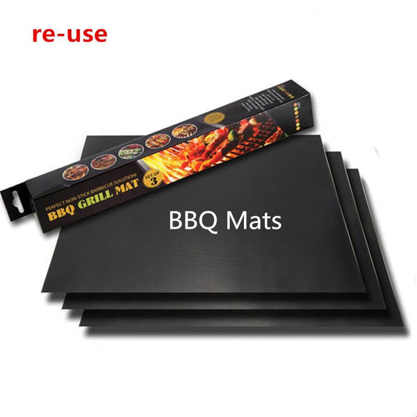 Reusable Non-Stick BBQ Grill Mat 2 pcs - Nvr2Lte2Shop.com