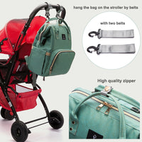 2018 Large Baby Diaper Bag With USB Interface - Nvr2Lte2Shop.com