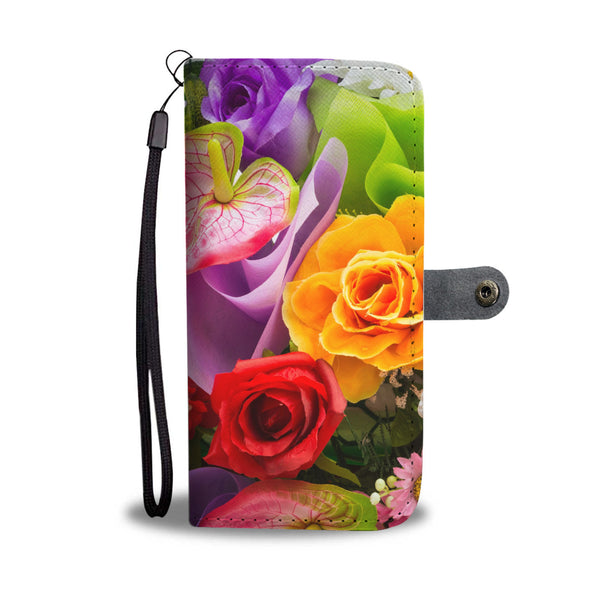 Flower Wallet/Phone Case - Nvr2Lte2Shop.com