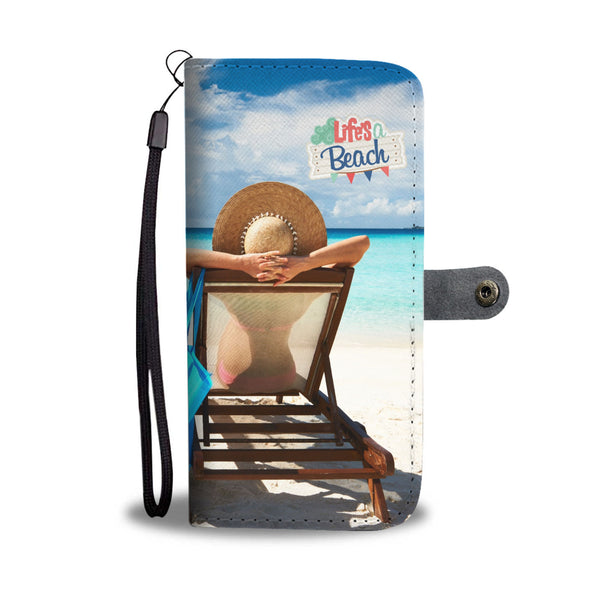 Beach Wallet/Phone Case - Nvr2Lte2Shop.com