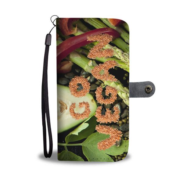 Go Vegan Wallet/Phone Case - Nvr2Lte2Shop.com