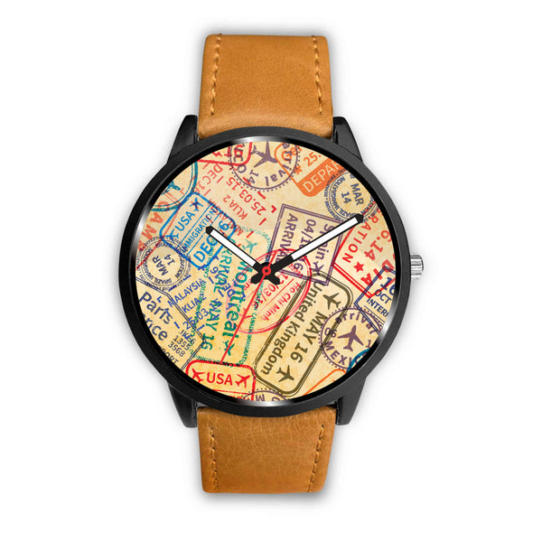 Travel Stamps Watch - Nvr2Lte2Shop.com