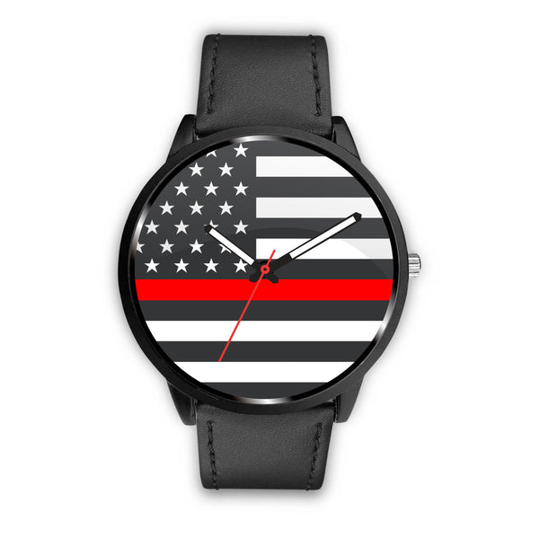 Firefighter Thin Red Line Watch - Nvr2Lte2Shop.com