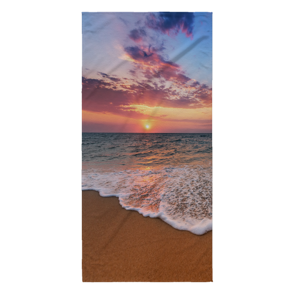 Beach Scene Beach Towel - Nvr2Lte2Shop.com