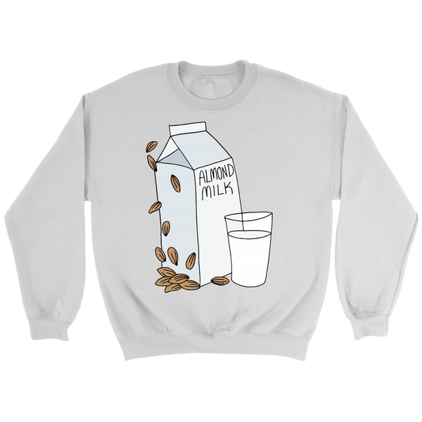 Almond Milk Sweatshirt - Nvr2Lte2Shop.com