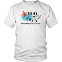 Relax and Enjoy PCB Unisex T-Shirt - Nvr2Lte2Shop.com
