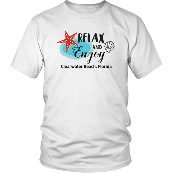 Relax and Enjoy CB Unisex T-Shirt - Nvr2Lte2Shop.com