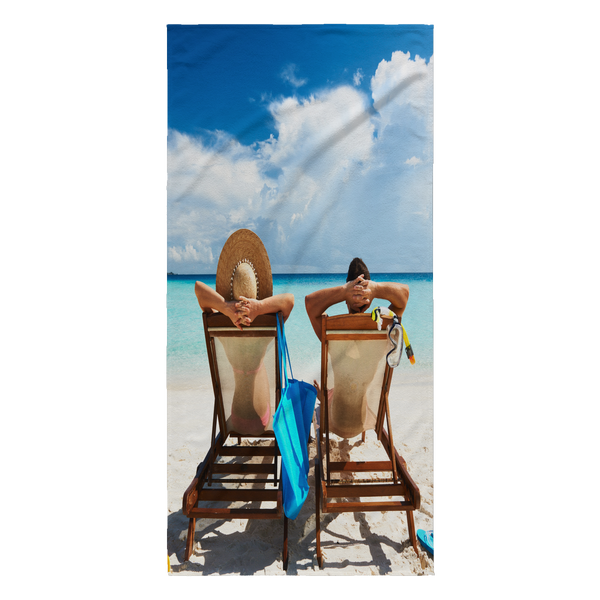 Beach Relaxation Beach Towel - Nvr2Lte2Shop.com