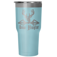 Bow Hunter 30 Ounce Vacuum Tumbler - Nvr2Lte2Shop.com