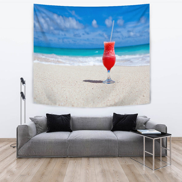 Drink On The Beach Tapestry - Nvr2Lte2Shop.com