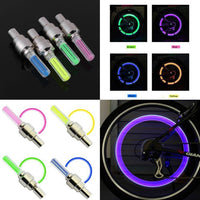 NEW Crazy LED Neon Tire Glow Valve Sticks (1 Pair, 2pcs) PROMO - Nvr2Lte2Shop.com