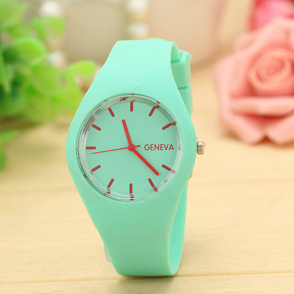 Brand New Candy-Colored Jelly Geneva Watches - Nvr2Lte2Shop.com