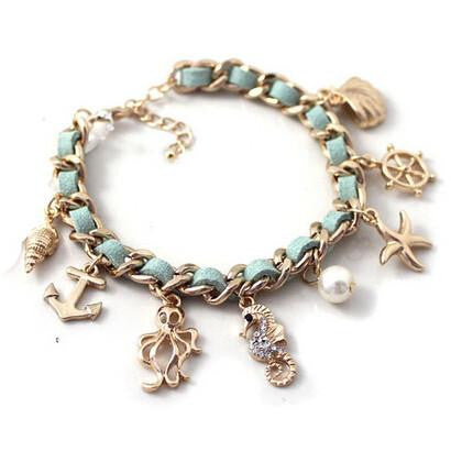 NEW Ocean Fashion Series Charm Bracelet - Nvr2Lte2Shop.com