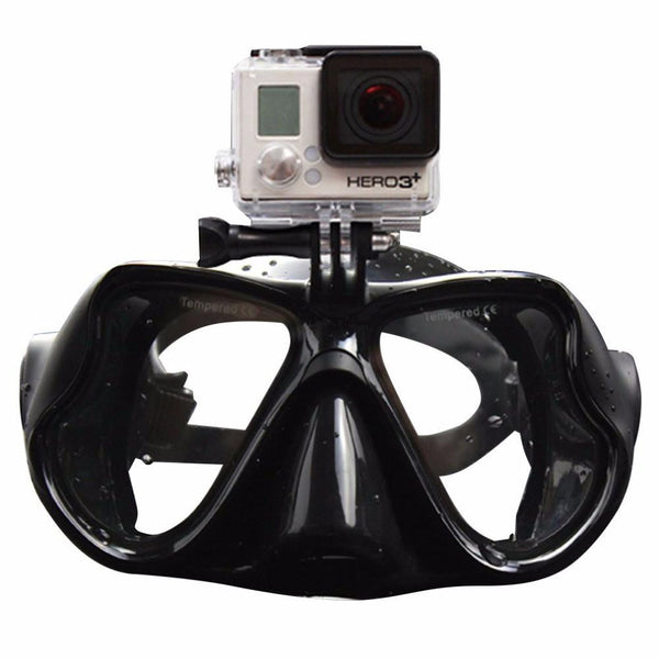 Professional Underwater Diving Mask with Camera Attachment - Nvr2Lte2Shop.com