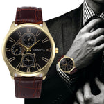 THE WILTSHIRE - QUARTZ LEATHER WRIST WATCH - Nvr2Lte2Shop.com