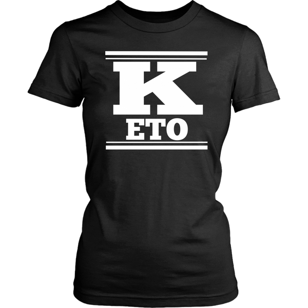 Keto Womens T-Shirt - Nvr2Lte2Shop.com